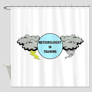 Meteorologist in Training Shower Curtain