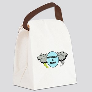 Meteorologist in Training Canvas Lunch Bag