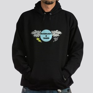 Meteorologist in Training Hoodie (dark)