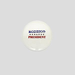 RODRIGO for president Mini Button