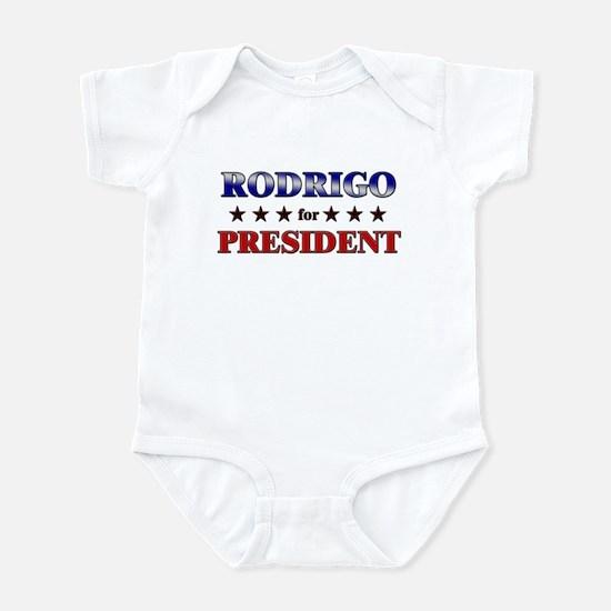 RODRIGO for president Infant Bodysuit