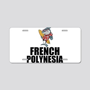 French Polynesia Aluminum License Plate