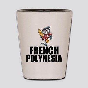 French Polynesia Shot Glass
