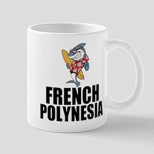 French Polynesia Mugs