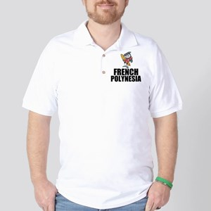 French Polynesia Golf Shirt