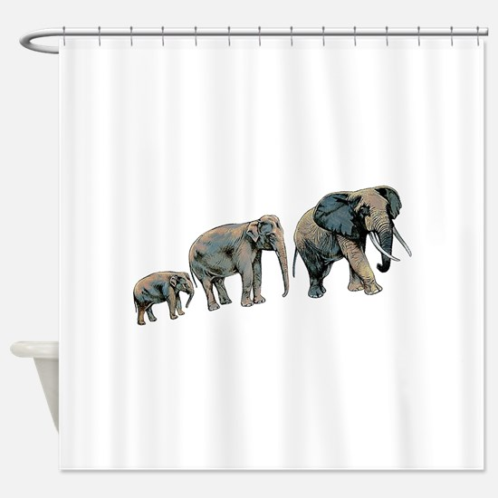 GUIDANCE Shower Curtain