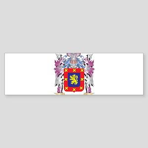 Benito Coat of Arms (Family Crest) Bumper Sticker
