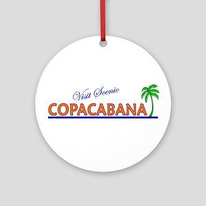 Visit Scenic Copacabana Ornament (Round)