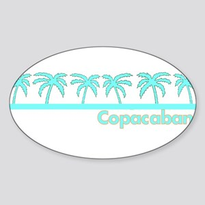 Copacabana Oval Sticker