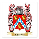 Weissbrod Square Car Magnet 3