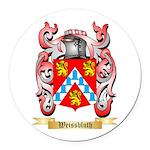 Weissbluth Round Car Magnet