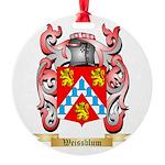Weissblum Round Ornament