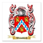 Weissblech Square Car Magnet 3