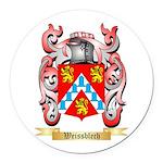 Weissblech Round Car Magnet
