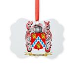 Weissblech Picture Ornament