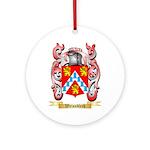 Weissblech Round Ornament