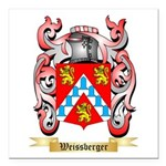 Weissberger Square Car Magnet 3