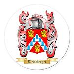 Weissberger Round Car Magnet