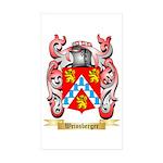 Weissberger Sticker (Rectangle 50 pk)