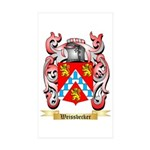 Weissbecker Sticker (Rectangle 50 pk)