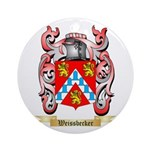 Weissbecker Round Ornament