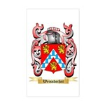 Weissbecher Sticker (Rectangle)