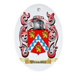 Weissadler Oval Ornament