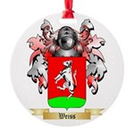 Weiss Round Ornament