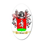 Weiss 20x12 Oval Wall Decal
