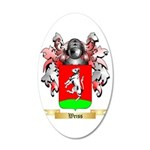 Weiss 35x21 Oval Wall Decal