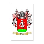 Weiss 20x12 Wall Decal