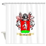 Weiss Shower Curtain
