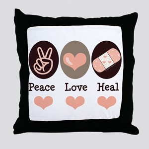 Heal Nurse Doctor Throw Pillow