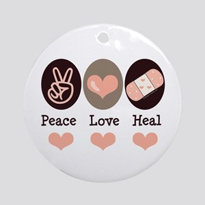 Heal Nurse Doctor Ornament (Round)