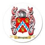 Weisglass Round Car Magnet