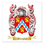 Weisglas Square Car Magnet 3