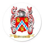 Weisglas Round Car Magnet