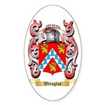 Weisglas Sticker (Oval 50 pk)