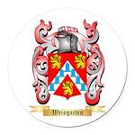 Weisgarten Round Car Magnet