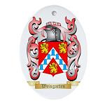 Weisgarten Oval Ornament