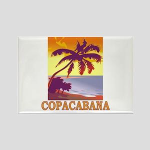 Copacabana Rectangle Magnet