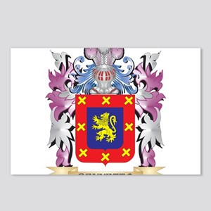 Bennetto Coat of Arms (Fa Postcards (Package of 8)