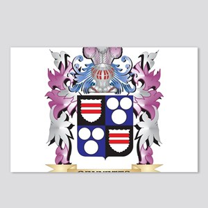 Bennetts Coat of Arms (Fa Postcards (Package of 8)