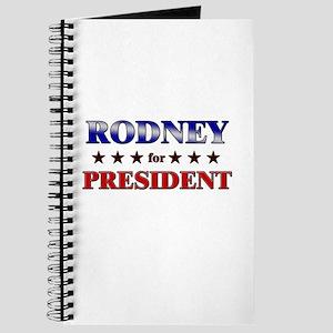 RODNEY for president Journal