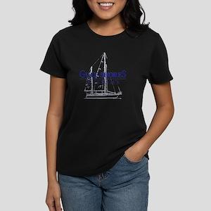 Gulf Shores Sailboat - Women's Dark T-Shirt