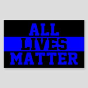 All Lives Matter Blue Lives Sticker