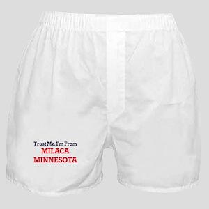 Trust Me, I'm from Milaca Minnesota Boxer Shorts