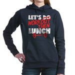 lets workout Women's Hooded Sweatshirt