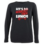 lets workout Plus Size Long Sleeve Tee