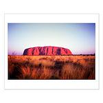Uluru: Unique Moment Small Poster